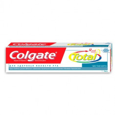 Колгейт Зубная паста TOTAL12 Чистая мята 125мл COLGATE