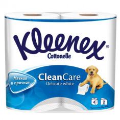 Kleenex Туалетная бумага белая трехслойная 4 рулона