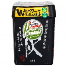 Nagara Поглотитель запаха гелевый с бамбуковым углем и зеленым чаем 320 г