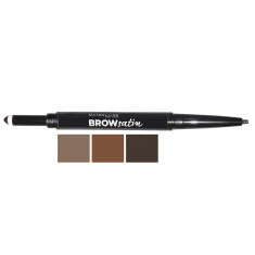 MAYBELLINE Карандаш для бровей Brow Satin 02 коричневый