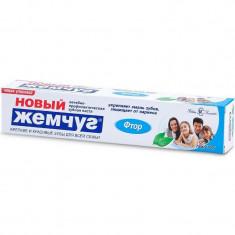 Новый жемчуг Зубная паста Фтор 50мл НОВЫЙ ЖЕМЧУГ