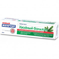 Новый жемчуг Зубная паста Хвойный бальзам 100мл НОВЫЙ ЖЕМЧУГ