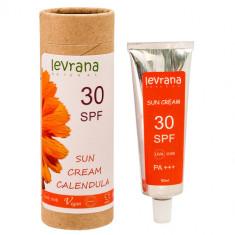 Levrana Солнцезащитный крем Календула, SPF30 50мл