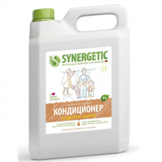 Synergetic Кондиционер для белья Миндальное молочко 5000 мл