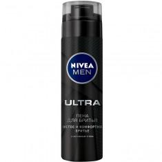 Нивея Men Пена для бритья Ultra 200 мл [88579] NIVEA