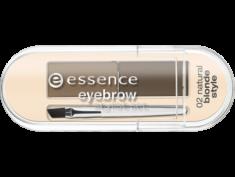 Тени для бровей Eyebrow Stylist Set Essence 02 natural blonde style