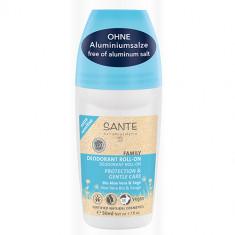 Sante Шариковый дезодорант для чувствительной кожи с Био-Алоэ Вера и Шалфеем 50мл Sante Naturkosmetik