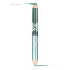 PuroBio Двойной карандаш для глаз Вечерний цвет 02N
