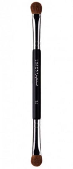 Кисть для теней Двусторонняя LIMONI Professional Brush №34 1 шт