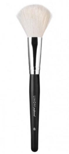 Кисть для рассыпчатых текстур из натурального ворса LIMONI Professional Brush №49 1 шт