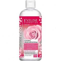 Розовая мицеллярная вода 3 в 1 Facemed+ EVELINE