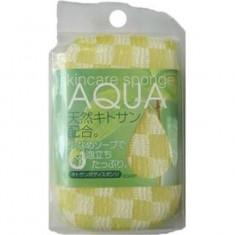 Мочалка-спонж с хитозаном Aqua AISEN